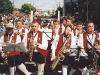 In a parade in La Crosse, WI